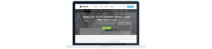 Screen capture of Hootsuite tool